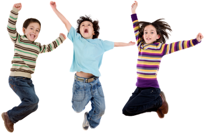 Jumping Kids Picture PNG Images