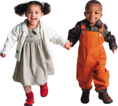 Kids Holding Hands And Running PNG Images