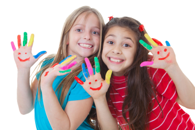 Kids, Happy, Girls PNG Picture
