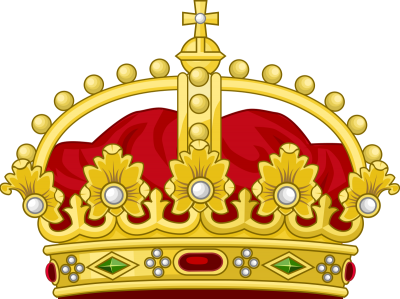Queen, King, Red, Cross, Gold Crown PNG Images