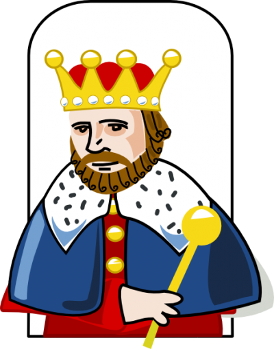 King Playing Cards PNG Images