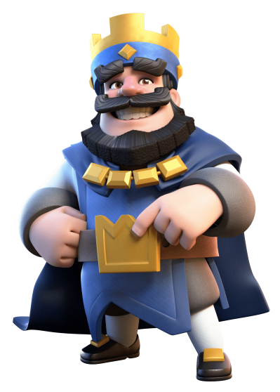 King Of Clash Royale Png PNG Images