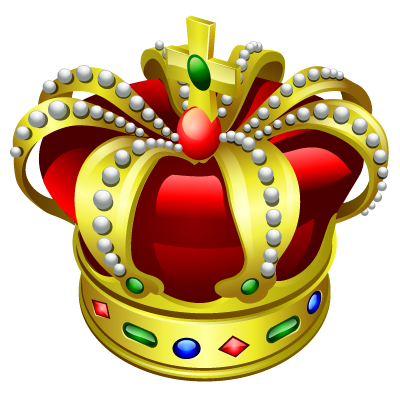 Free King Crown Logo PNG Images