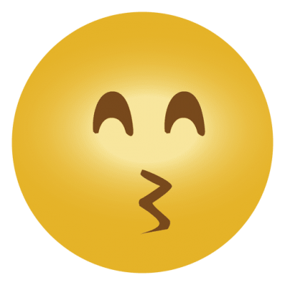 Kiss Smiley, Emoticons Png PNG Images