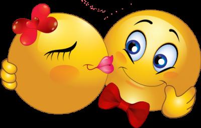 Smiley kiss