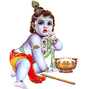 Illustration Krishna, Krishna Janmashtami, Happiness