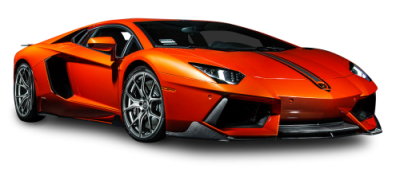 Orange Lamborghini Aventador Photos PNG Images