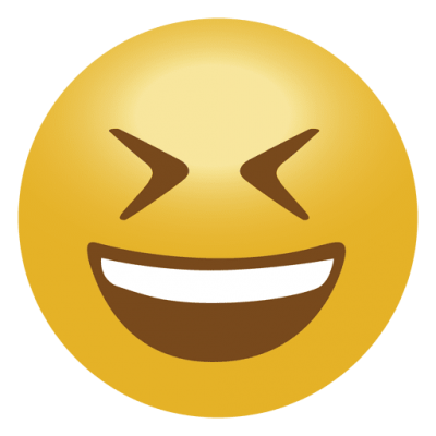 Laughing Emoji Transparent PNG Images