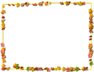 Leaf Frame Transparent PNG Images