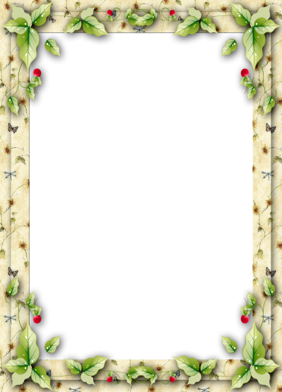 Leaf Frame Transparent Picture PNG Images