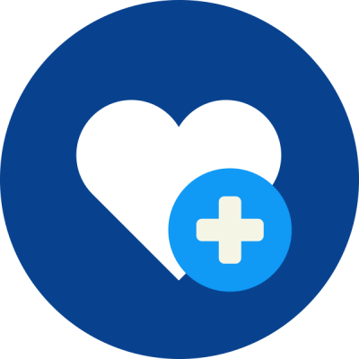 Heart PLus Logo, Life Insurance Free Transparent Png