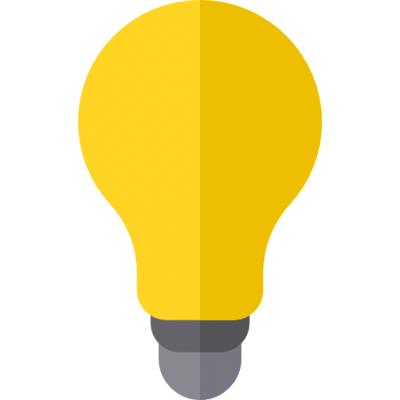 Light Bulb Simple 14 PNG Images