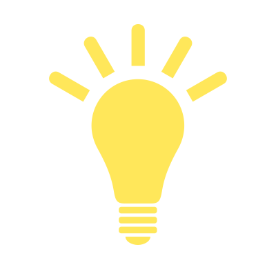 Light Bulb Simple PNG Images