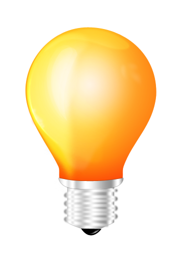 Download Light Bulb Yellow PNG Images