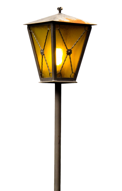 Long Yellow Light Street Lamp Pole HD Dowland Transparent, Street Light, Street Light Pole, Pole, Background, Wallpaper