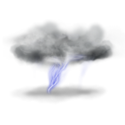 Cloud, Air, Rain, Thunder, Smoke, Lightning Png