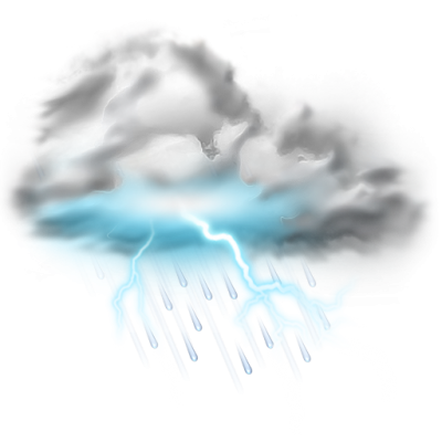 Thunder Lightning Storm Icon Weather Iconset Png