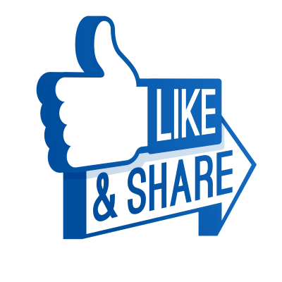 Like Button Share Icon Facebook Logo