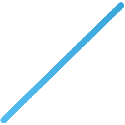 Trasnparent Horizontal Blue Line Icon Image