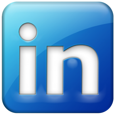 Blue, Box, Social, Circle, Color, Linkedin Png Images