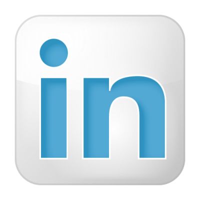 Social Linkedin Box White Icon Png