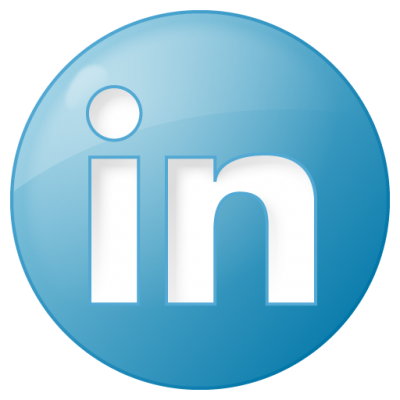 Social Linkedin Button Blue Icon Png Clipart