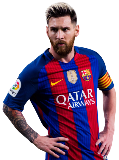 Lionel Messi Simple PNG Images