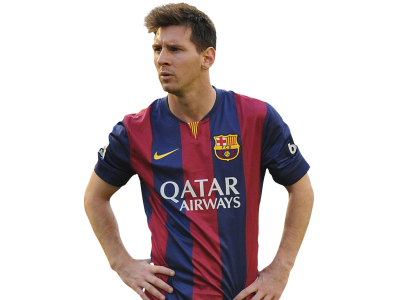Lionel Messi Cut Out