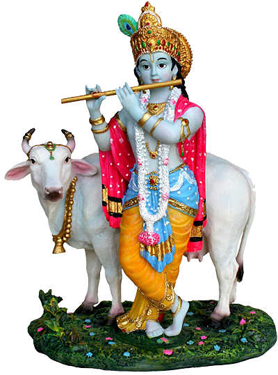 Lord Krishna Simple PNG Images