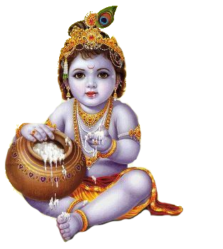 Lord Krishna Background