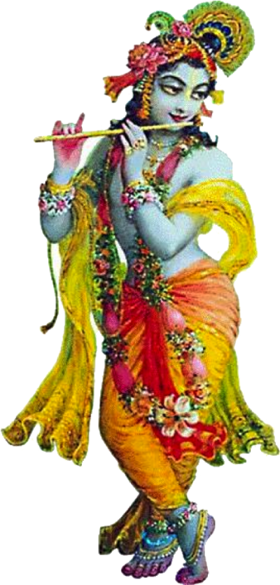 Lord Krishna Transparent Picture