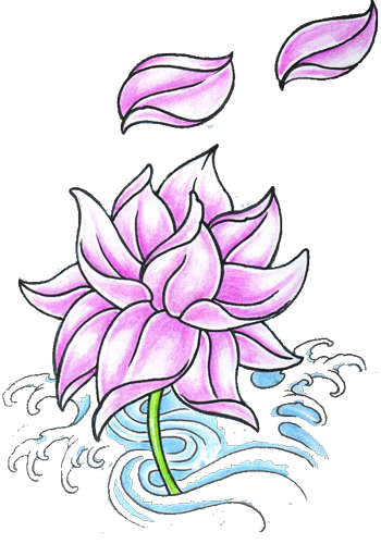 Lotus Tattoos Cut Out PNG Images