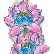 Lotus Tattoos Transparent Image PNG Images