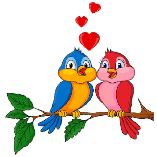 Love Birds Free Cut Out PNG Images