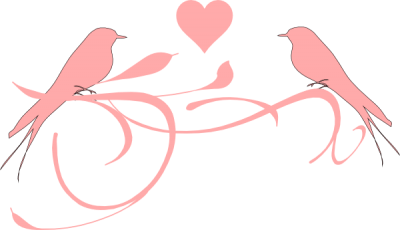 Love Birds Clipart Hd PNG Images