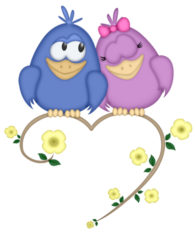 Love Birds Clipart Hd 15 PNG Images