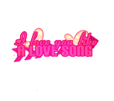 Love Text HD Image PNG Images