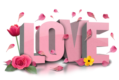 Love Text Free PNG