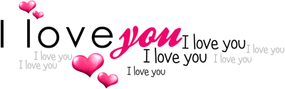 Love Text Transparent PNG Images