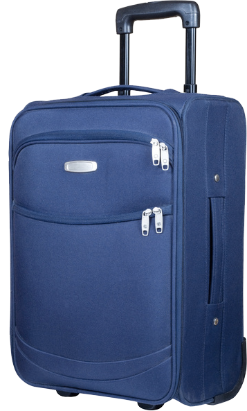 Blue Suitcase Luggage Picture PNG Images