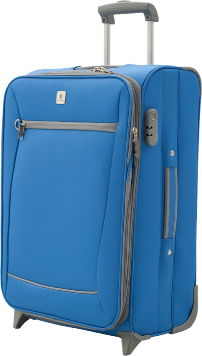 Blue Luggage Clipart Picture