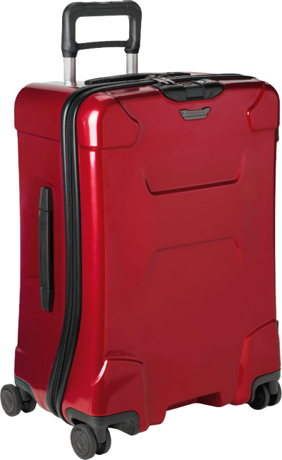 Red Luggage HD Photo