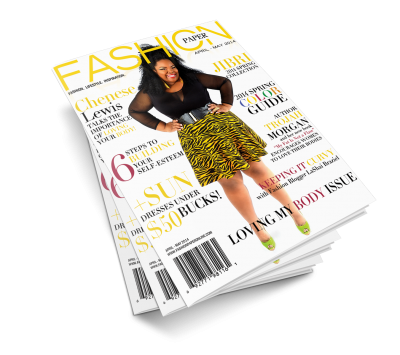 Chenese Graces The Cover Of Fashion Paper Magazine Pictures PNG Images