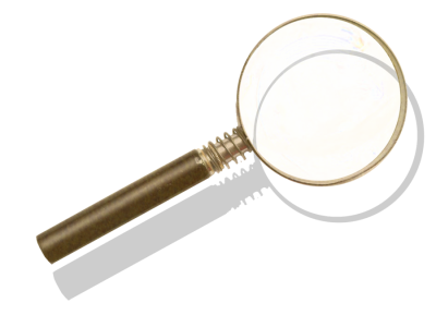 Magnifying Wonderful Picture Images PNG Images
