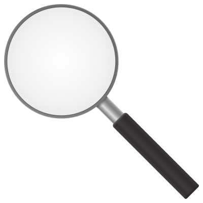 Magnifying Transparent Background PNG Images
