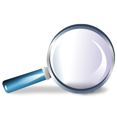Magnifying Cut Out PNG Images