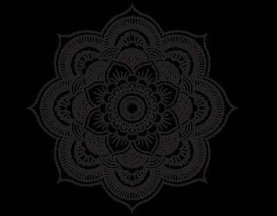 Coloriage De Mandala Fleur Oriental Pour Colorier Png 6014