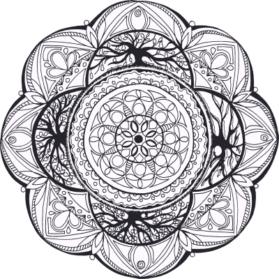 Hand Drawn Mandala Png PNG Images