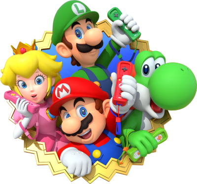Mario Bros Simple PNG Images