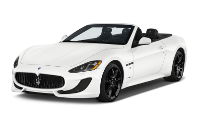 White Maserati Vector PNG Images